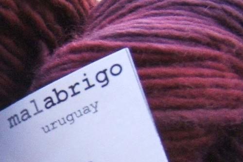 Malabrigo Velvet Grapes III