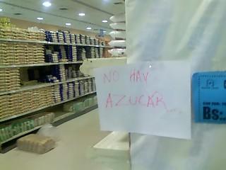 No hay azúcar