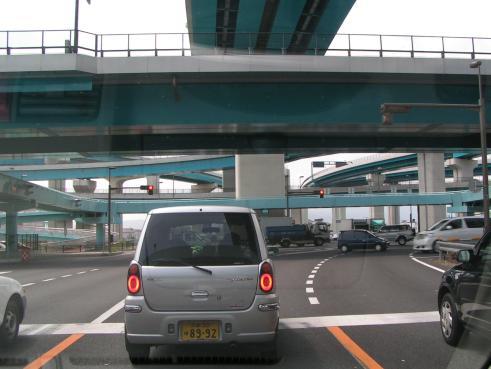 échangeur autoroutier auprès de Kyoto