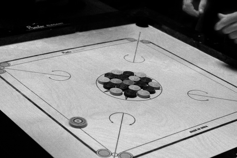 Carrom board at Utsav - SASA - UChicago