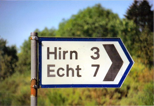 Road Sign near Banchory, Scotland