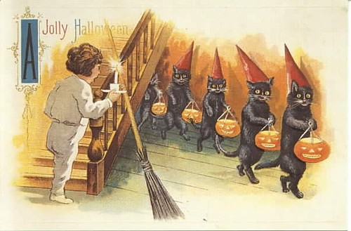 Halloween-cats