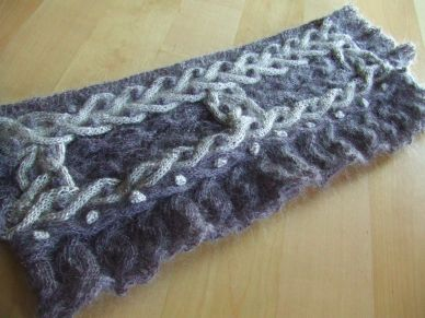 Cable Shrug Folded