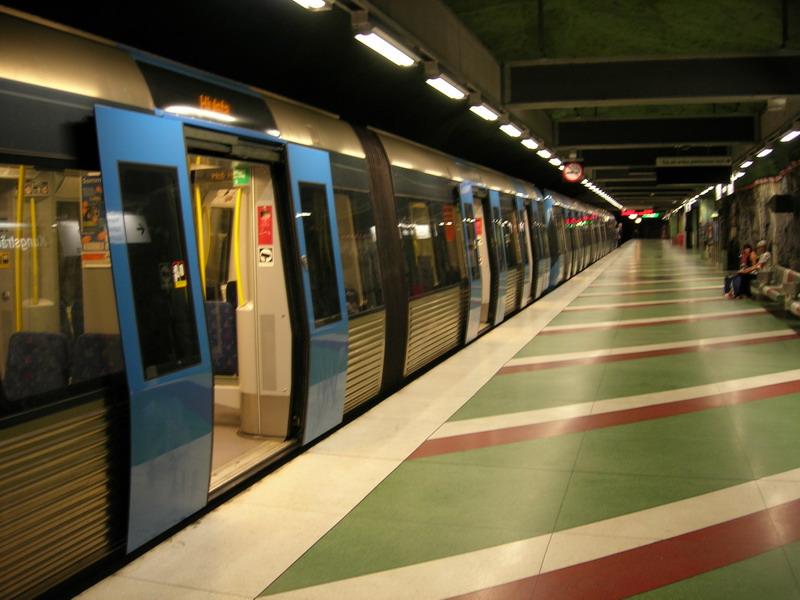 斯德哥尔摩的地铁