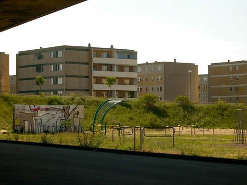 Der VII. Wohnkomplex im Mai 2004