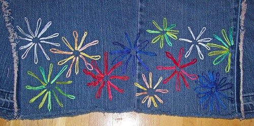 Left Side Embroidery