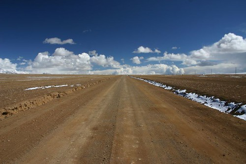 Endless, beautiful plains near Mt. Kailash...