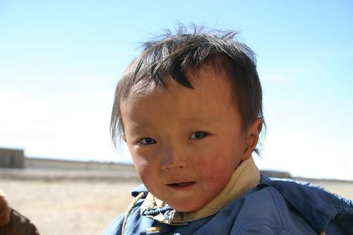 Huore boy. Tibet 2006.