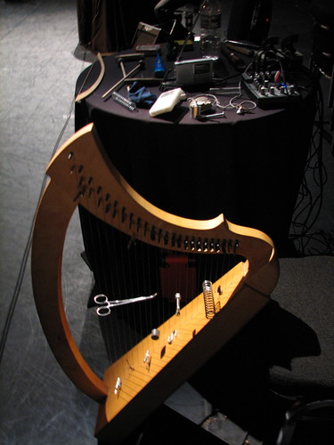 Prepared Wire Strung harp