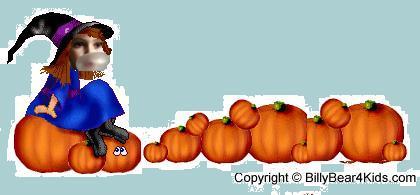 Chewing Hallowe'en
