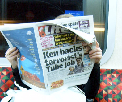 Ken Backs Terrorist's Tube Job