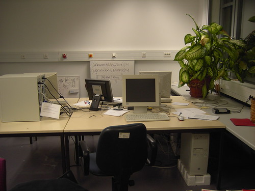 Mein Arbeitsplatz im IPD