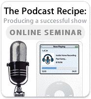 Apple's Podcast Recipe Seminar, Featuring IHR!