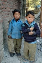 school boys, Old manali