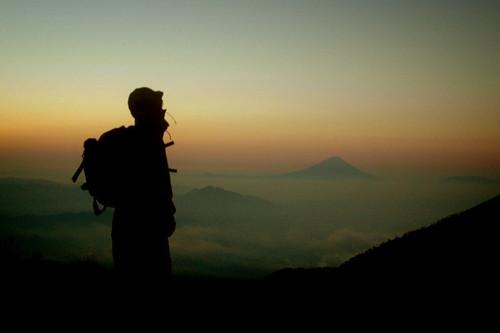 Fuji in Sunrise