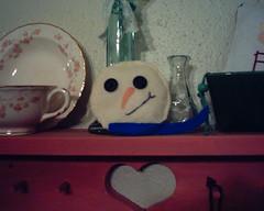 Felt Snow Man