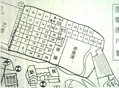 忠孝分營平面圖