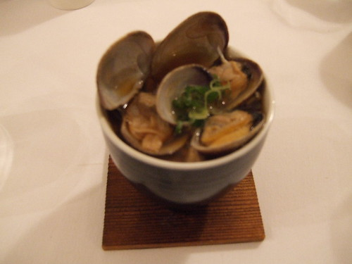 Kiss (San Francisco) - Chawanmushi w/ Clams
