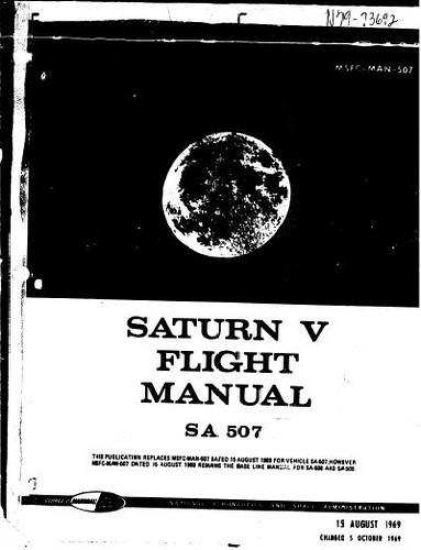 Manual de vuelo del Saturn V