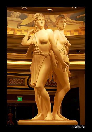 caesars palace statues