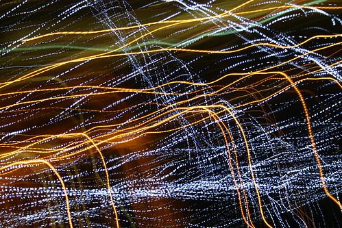 Streaky lights at Night Lights