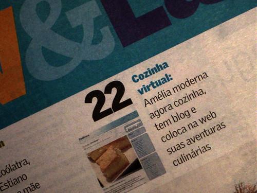 Dadivosa no Jornal de Hoje
