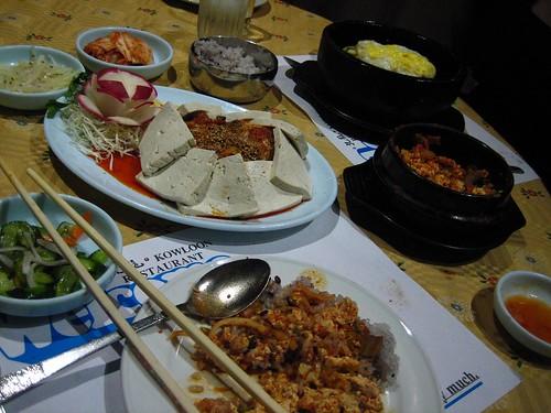 Dinner at Kowloon