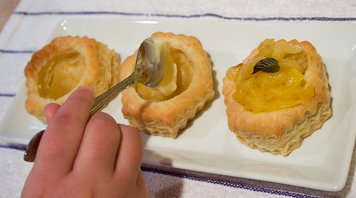 Mango Apple compote dessert - pastry How-2 guide