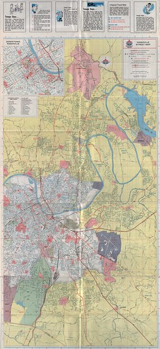 1968 Nashville Road Map