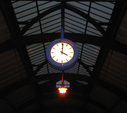 Station Clock (Cropped)