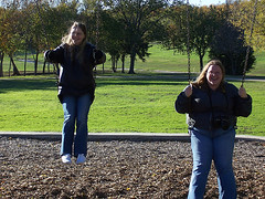 April and Manda