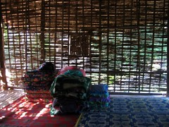 Our hut in Nalan Tai Khmu Village - Nam Ha River