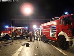 Tödlicher VU A3 höhe Raunheim 16.11.06