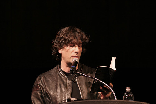 Neil Gaiman at SJSU by mhuang