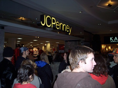 average amount of time spent at jcpenny s