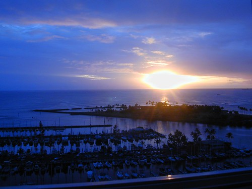 Waikiki hotel view