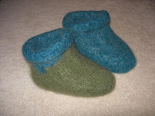 Fuzzy feet 1