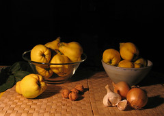 Bodegón con membrillos/Still life with quinces photo by Juan_Sanchez