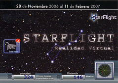 INVITACIÓN STARFLIGHT