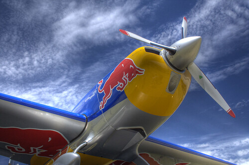 Aerobatic Red Bull (HDR)