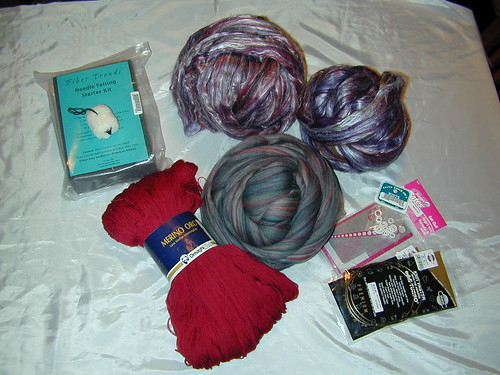 Loot from Main Street Yarns, Watkinsville