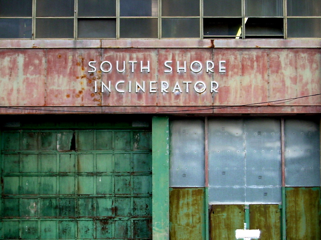 incinerator, east new york