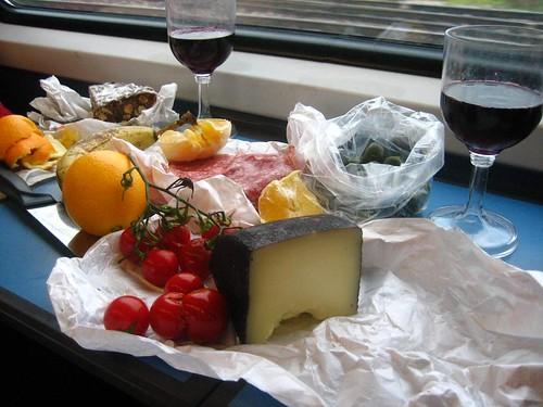 Train Picnic to Switzerland