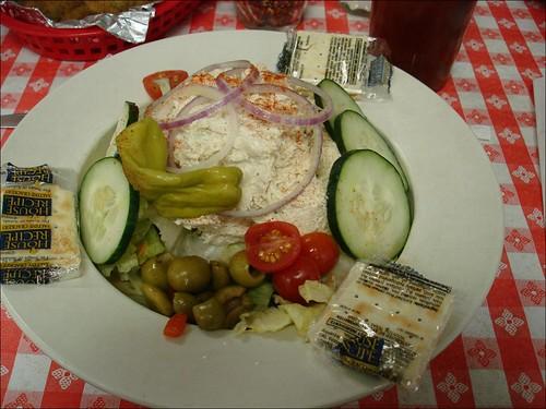 chicken salad at Billy's