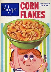 Kroger Corn Flakes box
