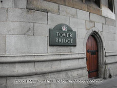 Tower bridge door