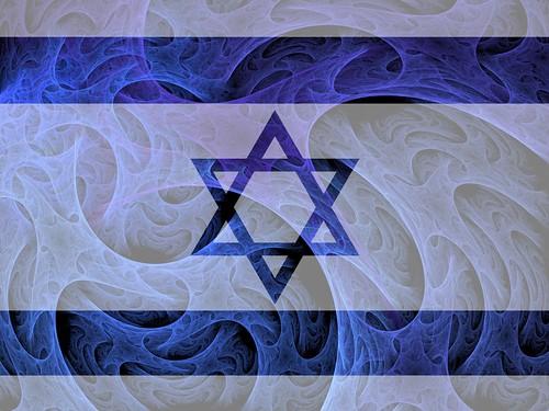 Israeli Fractal Flag