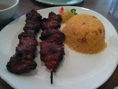 BBQ Pork Filipino style at Pinpin 02/12/2006