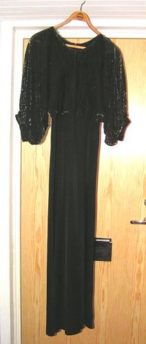 Secondhandklänning köpt i Berlin.