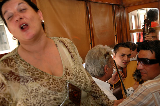 Fado at the tramway